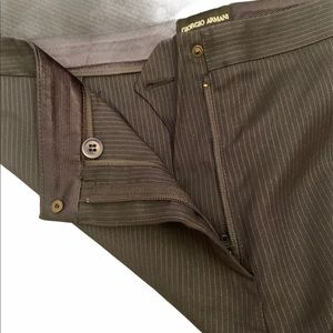Giorgio Armani Stripped Dress Pants Made in Italy